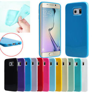 GLOSS-SOFT-FLEXIBLE-SILICONE-GEL-TPU-BACK-COVER-CASE-FOR-SAMSUNG-GALAXY-PHONES