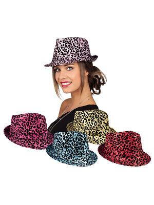 Pailletten Hut schwarz Silvester Party Showtime Herren Damen