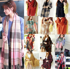 71''x28'' Women Long Winter Warm Wool Blend Soft Wrap Shawl Pashmina Scarf