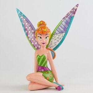 Romero Britto Disney Tinkerbell Legs Crossed Figurine Ebay