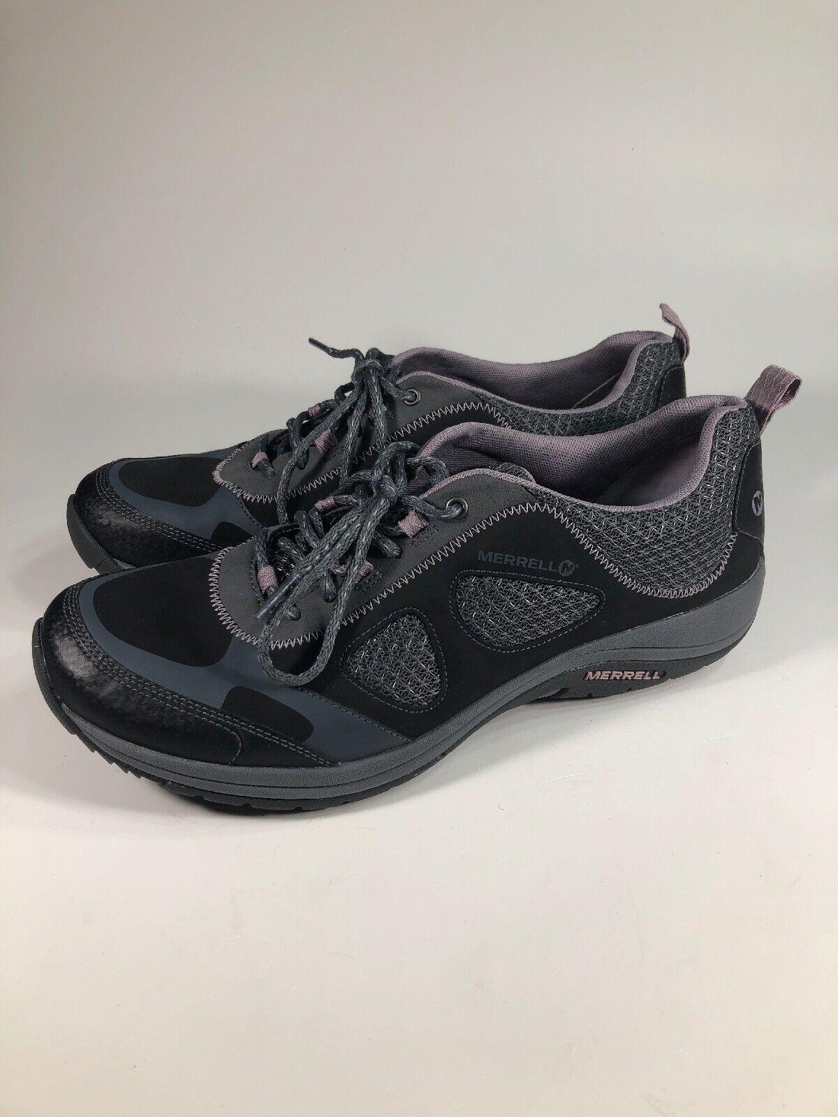 Merrell niebla de mar Morado  Negro Zapatos para caminar para senderismo y andina para mujer Talla 11 M  comprar ahora