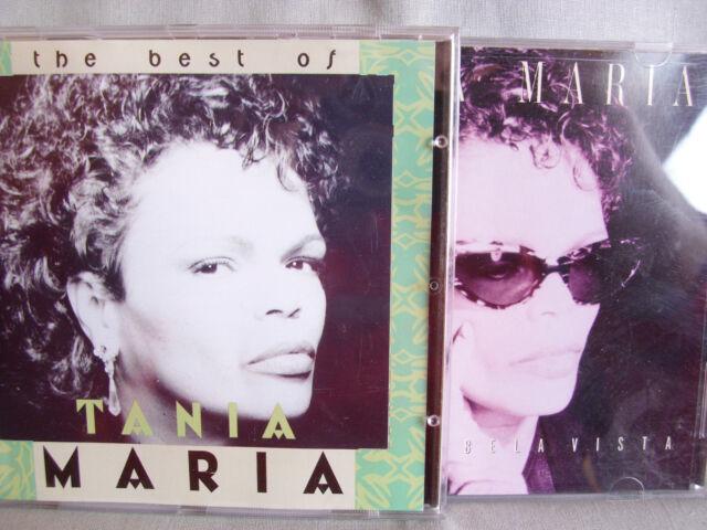 Tania Maria- Best of/ Bela Vista- 2 CDs WIE NEU