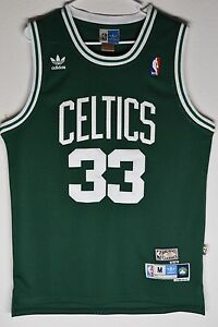 64a4e390a86 Stitched Image is loading Boston-Celtics-Larry-Bird-Green-33-Throwback  Larry Bird Boston Celtics Green Throwback Swingman Jersey ...