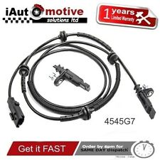 PEUGEOT 407 CITROEN C6 REAR LEFT RIGHT ABS SPEED SENSOR 1.6 2.0 2.2 HDI  4545G7