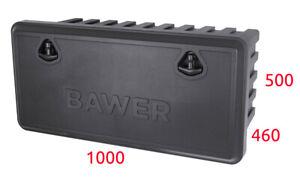 Coffre A Outils Boite De Rangement A Outils Bawer 1000x460x500 Pour Camions Ebay