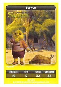 Carte Carrefour Dreamworks.Details About Carte Carrefour Dreamworks Shrek Fergus N 15