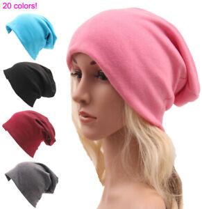 Unisex-Women-Mens-Winter-Warm-Oversized-Ski-Slouch-Hat-Knitted-Cap-Baggy-Beanies