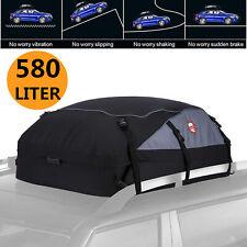 Roof Bag Cargo Box 580L Waterproof Car Top Carrier Travel Storage Rain Resistant