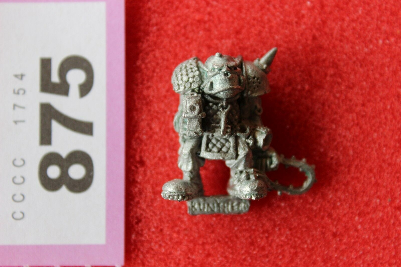 Games Workshop Warhammer 40k Rogue Trader Era Uncatalogued Runtherd Orks Ork OOP