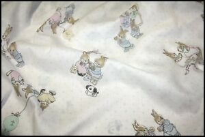 FAMILY-OF-RABBITS-FABRIC-44-INCH-WIDE-WHITE-IVORY-WITH-PINKS-MINT-BLUE-ETC