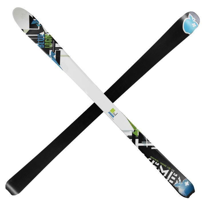 Movement bluee Log Skis Mens 176cm