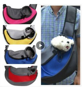 Pet-Dog-Cat-Puppy-Carrier-Mesh-Comfort-Travel-Tote-Sling-Backpack-Shoulder-Bags