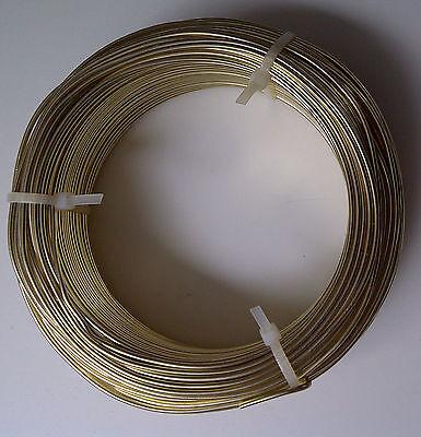 (0,10€/m) Aludraht 1mm rund 60m Biegedraht Basteldraht Schmuckdraht Draht 1,0 mm