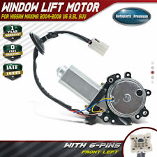 Window Lift Motor With Anti Clip For Nissan Maxima 2004 2008 Front Left Driver