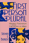 First Person Plural: Multiple Personality and the Philosophy of the Mind by Stephen E. Braude (Paperback, 1995)