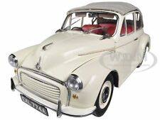 1965 MORRIS MINOR 1000 TOURER OLD ENGLISH WHITE 1/12 DIECAST MODEL SUNSTAR 4774