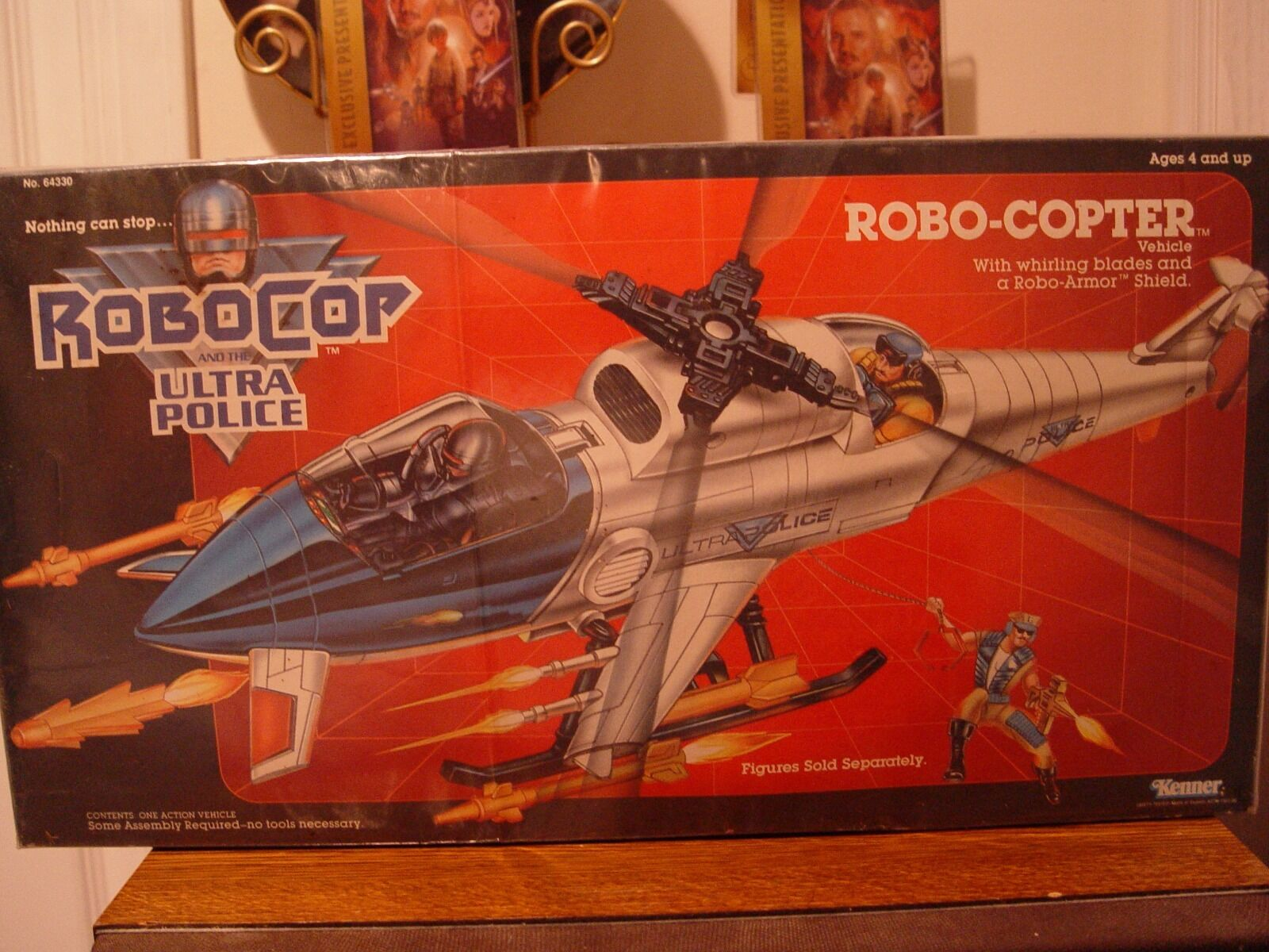 Kenner Robo-Copter Vehicle (1988) MISB MISB MISB 7b090f