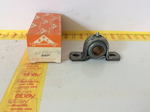 """BUYERS PRODUCTS 13//16"""" BFE13G Extra Strength Pillow Block Mounted Bearing NOS"""
