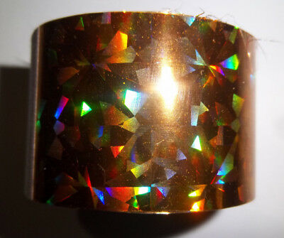 HUGE BLOW OUT SALE! Holographic  Silver Lazar   Nail Art Foil.