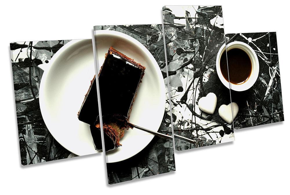 Cuadro Abstracto LONA Cocina Chocolate DE LONA Abstracto pared arte impresión de múltiples e969c2