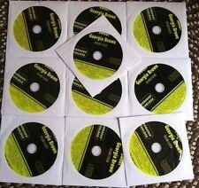 10 CDG KARAOKE LOT 200 SONGS COUNTRY ROCK OLDIES POP CD