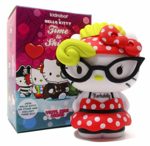 "Kidrobot HELLO KITTY TIME TO SHINE Mini Series ROCKABILLY 3/"" Vinyl Figure"