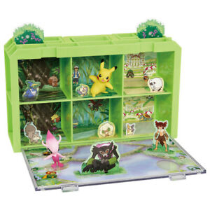 Pokemon Moncolle Pocket Monster Coco Shiny Celebi Limited Pikachu Movie Set Ebay