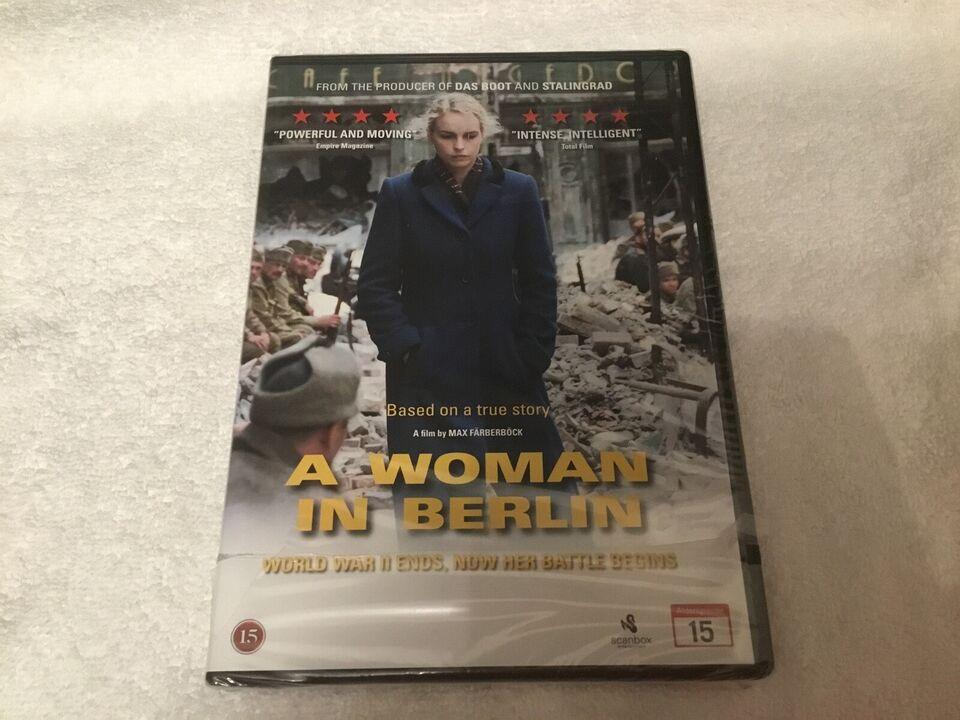 A woman in Berlin , DVD, drama