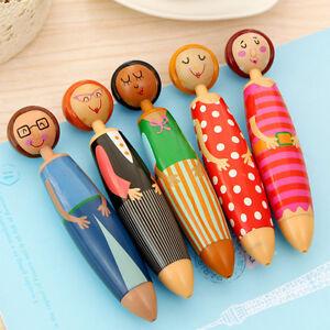Neu-Kreative-Puppen-Form-Kugelschreiber-Schreibwaren-Schuler-Collection-Geschenk