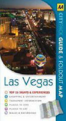 """""""AS NEW"""" Las Vegas (AA CityPack Guides) (AA Popout Cityguides), AA Publishing, B"""