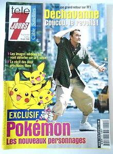 TV-7-Giorni-02-09-2000-Esclusivo-Pokemon-Cucu-Dechavanne-Dassin-Fili