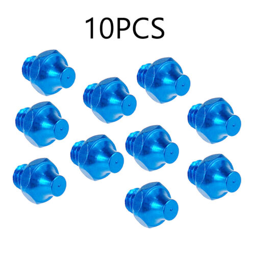 10PCS Bicycle Pedal Screws Hexagon Pedal Bolts Fixed Studs Non-Slip Bolts