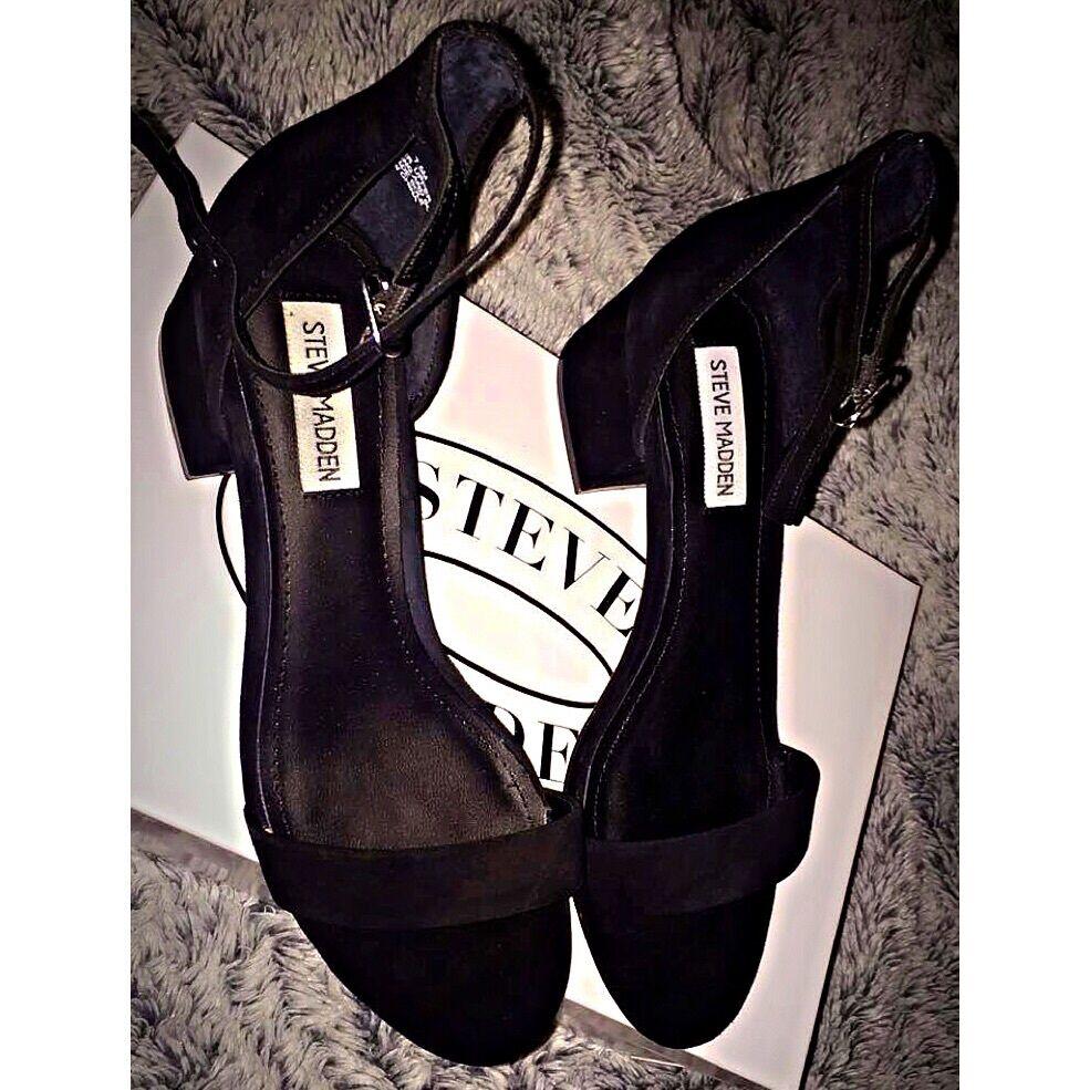 Steve Madden schwarz heels schuhe Größe 7