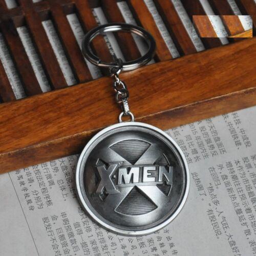 Superhero Marvel X-Men Design Logo Alloy Key Chains Keychain Keyfob Keyring