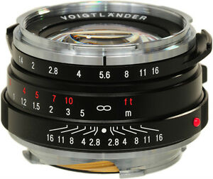 100% Neuf Inutilisé Voigtlander Nokton Classic 40 Mm F1.4 Mc Leica M M9 Voigtlaender-afficher Le Titre D'origine Nous Avons Gagné Les éLoges Des Clients
