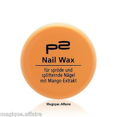 SOIN ONGLES CASSANTS ( ou écaillés ) ET CUTICULES - EN POT - 5 ML - P2 nail wax