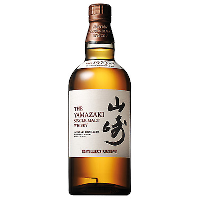 Yamazaki Distiller's Reserve Whisky 700mL bottle Japanese Whisky Single Malt