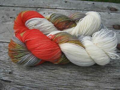 TÜRKISE OLIVEN  3245 Handgefärbte Sockenwolle 6 fach 150 g