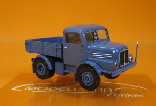 1//87 Brekina IFA s 4000-1 tractor azul 71450