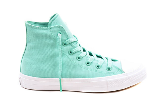 0372a78080f Converse Chuck Taylor All Star II Neon Teal Green White Men Casual ...