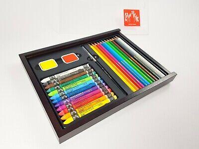 Scatola di legno 30 matite Swisscolor