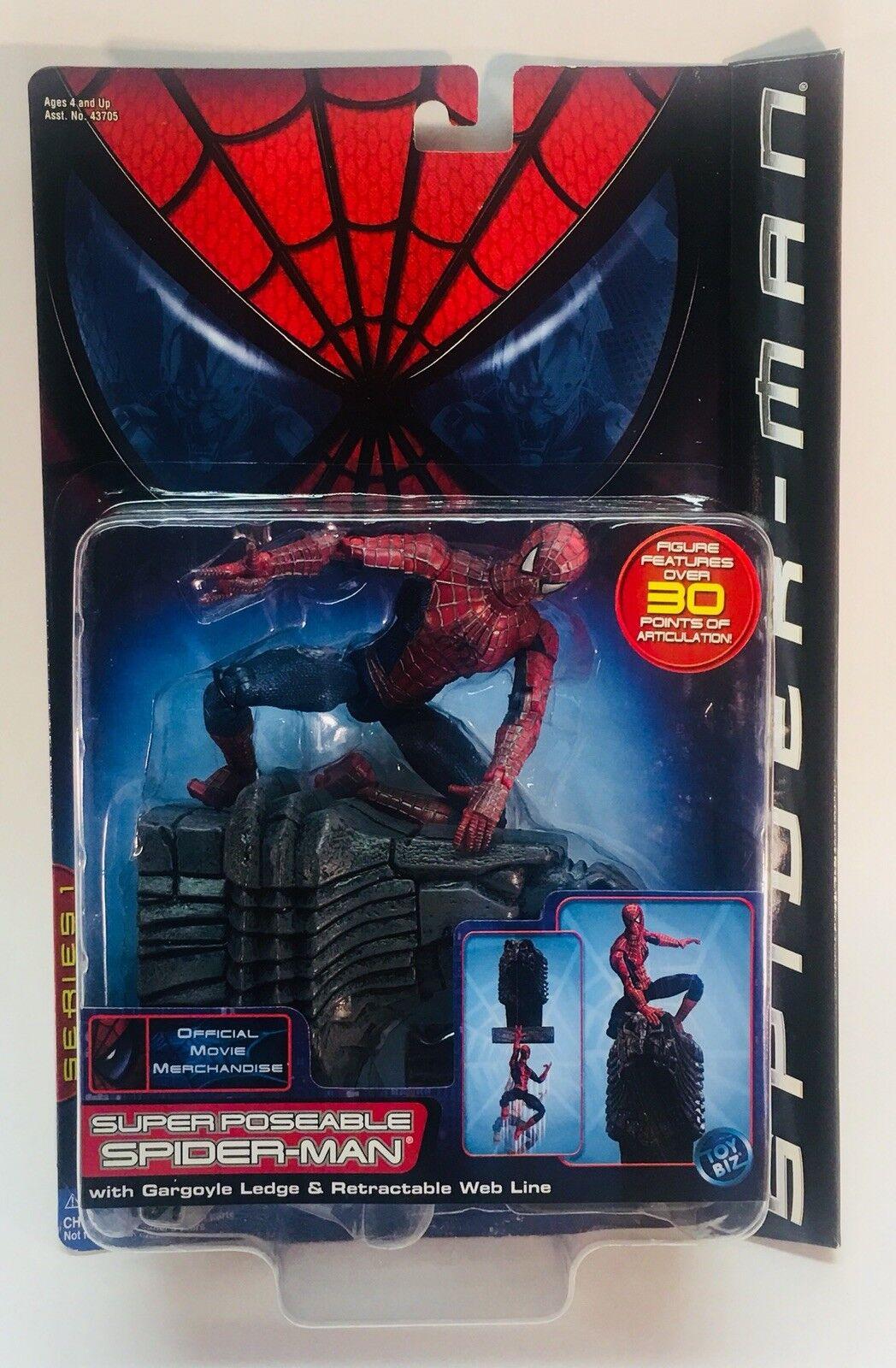 Spielzeug - biz super poseable spider - man mit wasserspeier sims & roll - linie