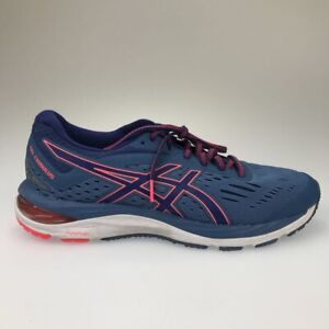 Details about Asics Womens Gel Cumulus 20 Running Shoes Blue Pink 1012A008  Lace Up Low Top 9.5