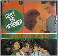 Gert En Hermien, Kleine Kinderen, kleine Zorgen, mit Autogramm, G/VG, LP (6341)