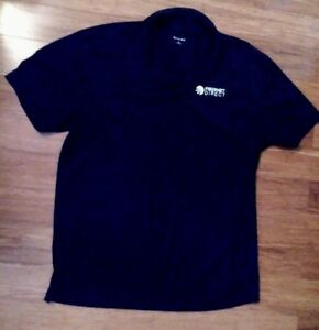 Sport Tek Men S Black Polo Shirt Size Xl Embroidered Corporate Logo