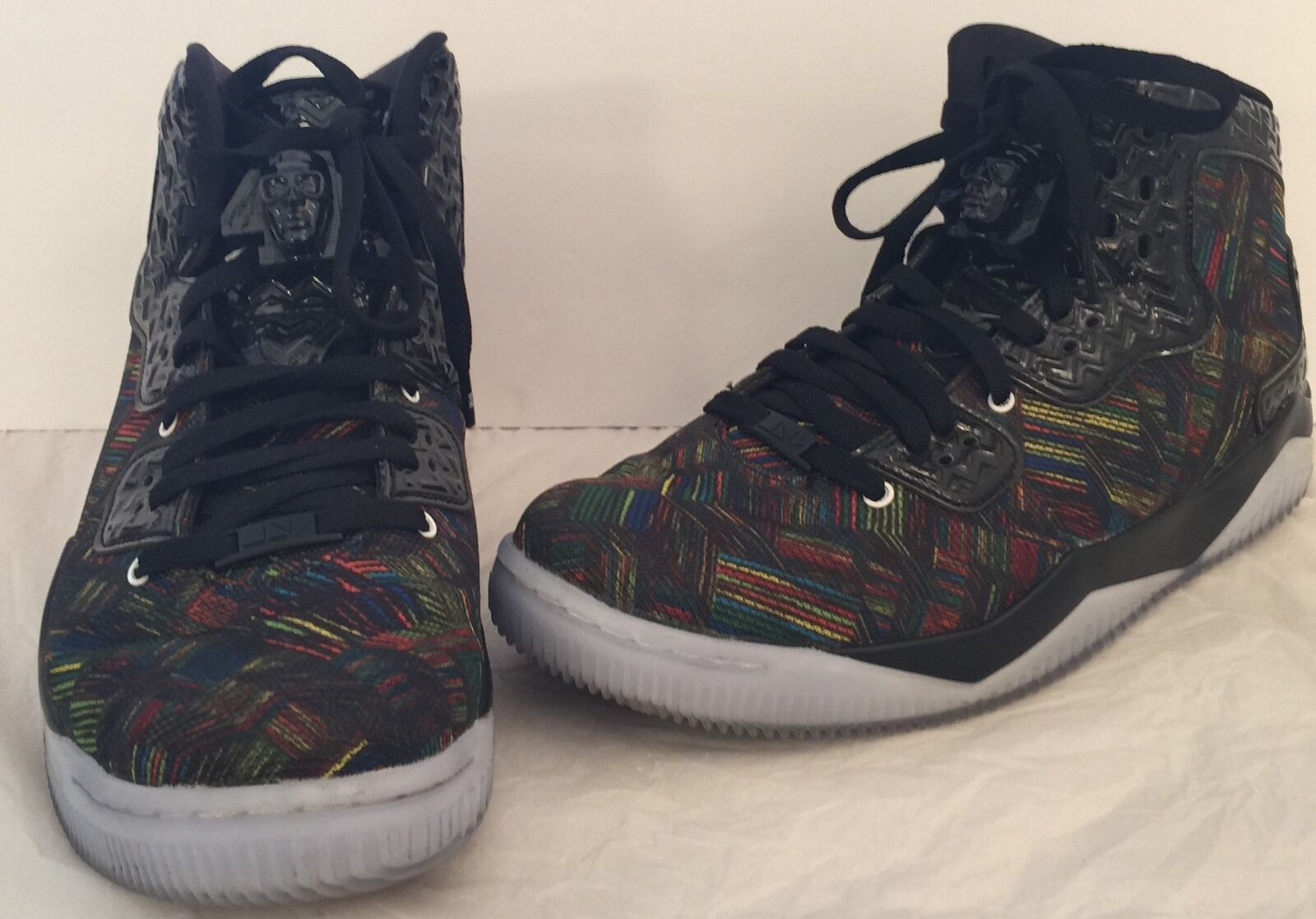 Nike Air Jordan Spike Forty BHM Sz 10.5 836750045 836750045 836750045 Black White Volt Green History bb6bf6