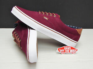 f1ec0c95f6 Vans Era 59 T L Windsor Wine Plus VN000ZMSH0M Men s Size  11