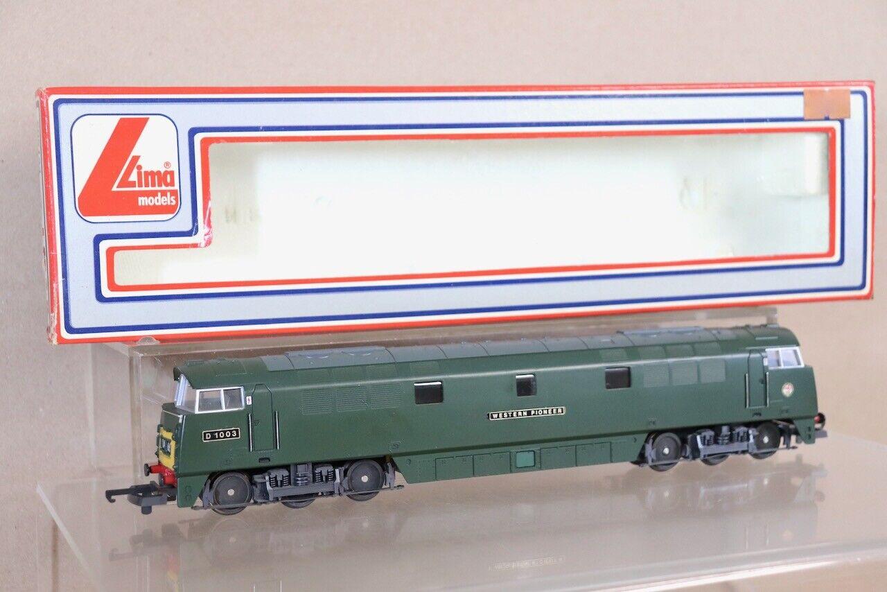 Lima 205134 Br Grün Klasse 52 Diesel Lokomotive D1003 Western Pioneer Boxed Nv