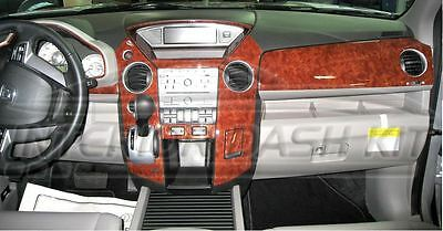Fits Honda Pilot 2009-2011 Large Wood Dash Trim Kit