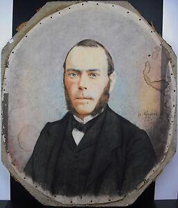Adolphe Terris Portrait De Jeune Homme 1877 Photographe De Marseille, Curiosité